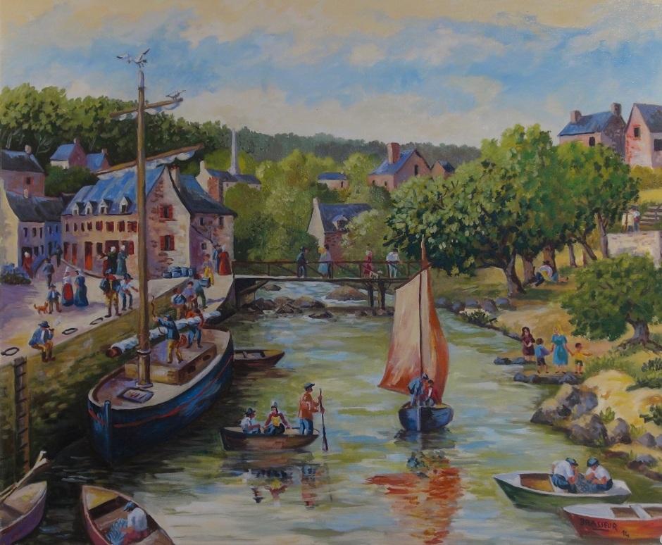 Le Port de Pont Aven