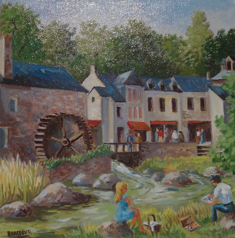 Pont Aven, le village des Peintres